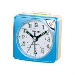 RHYTHM RETRO ALARM CLOCK blue