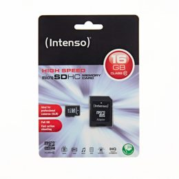Memory Card microSD INTENSO 16GB CLASS 10