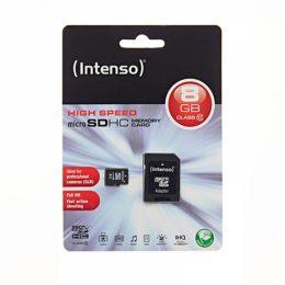 Memory Card microSD INTENSO  8GB CLASS 10