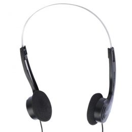 VIVANCO STEREO HEADPHONES 1.1m black