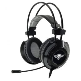 SOG ELITE STEREO HEADPHONES MIC JACK 3.5mm black edition