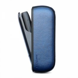 SENSO LEATHER CASE FOR iQOS 3.0 blue