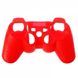 SENSO SILICONE CASE FOR PS3 red