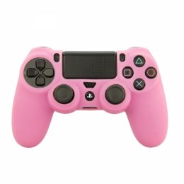 SENSO SILICONE CASE FOR PS4 pink