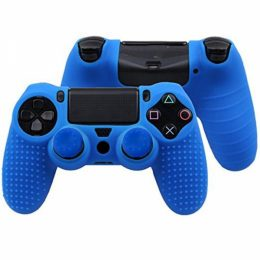 SENSO SILICONE ANTI-SKIDDING CASE FOR PS4 blue