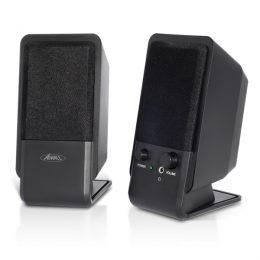 SOG ADVANCE SOUNDPHONIC 2.0 MULTIMEDIA SPEAKERS 4W RMS black