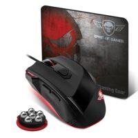 SOG PRO M3 USB Optical Gaming Mouse DPI 3200 MAX + MOUSE PAD