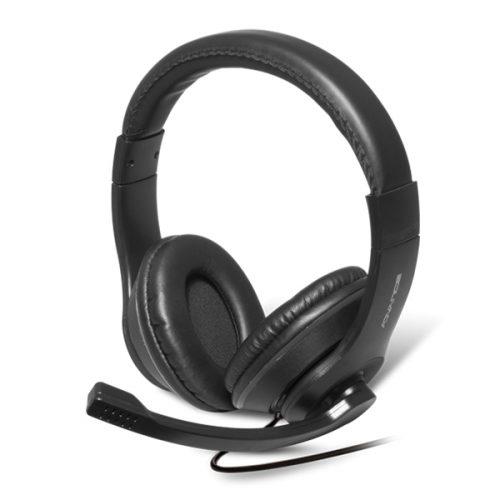 SOG ADVANCE PRO STEREO HEADPHONES MIC JACK 3.5mm black