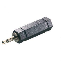 VIVANCO AUDIO ADAPTER 6.5mm JACK TO 3.5mm JACK black