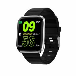 SW AID116 PRO SMART WATCH FITNESS silver black