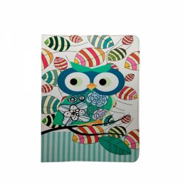 GREEN OWL UNIVERSAL TABLET CASE 7-8""